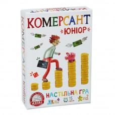 Настольная экономическая игра Arial Коммерсант Юниор UA (10218)