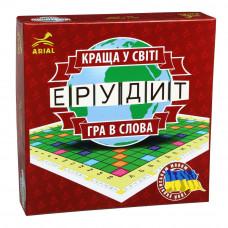 Настольная игра для всей семьи Arial Эрудит украинский UA (3029)
