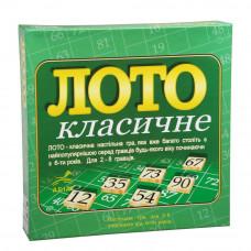 Настольная игра для всей семьи Arial Лото Классическое UA (3032)