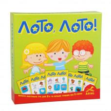 Настольная развлекательная игра Arial Лото, лото! UA (3046)