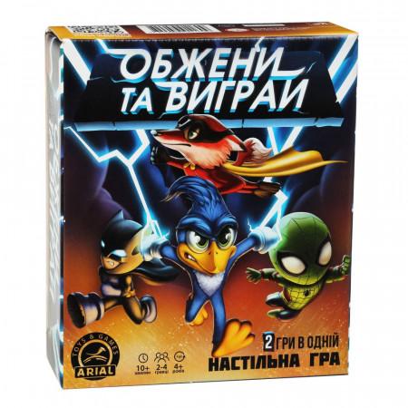 Настольная игра для детей Arial Обгони и выиграй UA (3049)