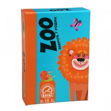 Настольная игра для детей Arial Zoo UA (31650)