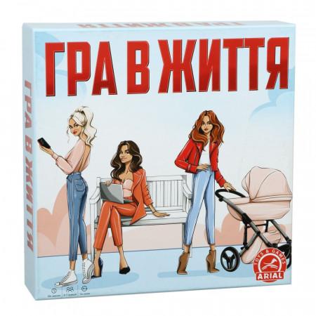 Настольная  игра Arial Играй в жизнь. Супер домино Казино UA (33381)