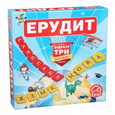 Настольная игра для всей семьи Arial Эрудит 3 языка UA/RU/EN (40158)