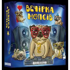 Настольная игра для компании Feelindigo Вечеринка мопсов UA (IM-16001)