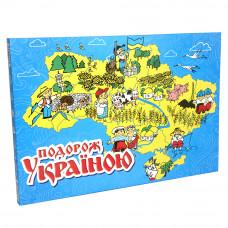 Настольная развлекательная игра Strateg Подорож Україною UA (59)