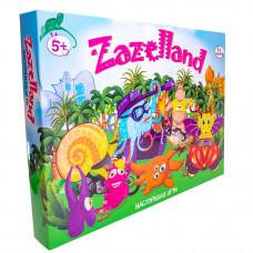 Настольная развлекательная игра Strateg Zazelland RU (30213)