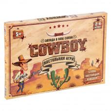 Настольная развлекательная игра Strateg Cowboy RU (30314)