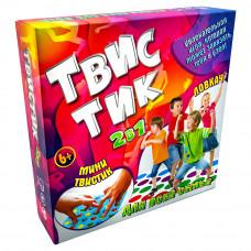 Настольная развлекательная игра Strateg ТвисТик 2 в 1 RU (30500)
