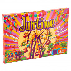 Настольная развлекательная игра Strateg JunTime UA (30511)