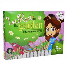 Настольная развлекательная игра Strateg Lora in the Garden RU (30514)