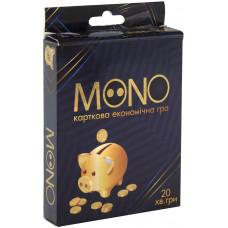 Настольная карточная экономическая игра Strateg Mono UA (30569)