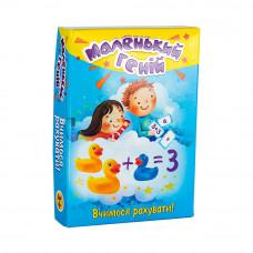 Настольная развивающая игра Strateg Обучающие карточки Маленький геній UA (30660)
