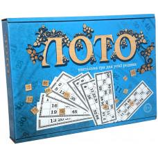 Настольная игра Strateg Лото с деревянными фишками UA (30662)