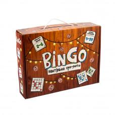 Настольная развлекательная игра Strateg лото «BinGo UA (30757)