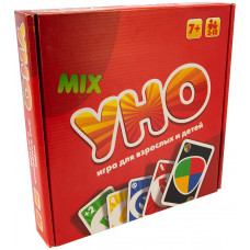 Настольная карточная игра Strateg УНО: люкс 2в1 RU (40256)