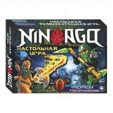 Настольная развлекательная игра Strateg Нинзяго RU (61003)