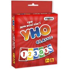 Настольная карточная игра Strateg Уно classic UA (7015)