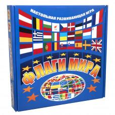 Настольная развивающая игра Strateg Флаги мира RU (709)