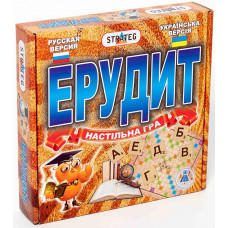 Настольная игра для детей Strateg  Эрудит UA (870)