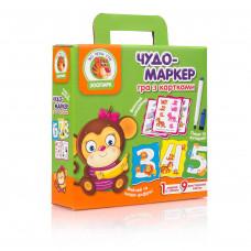 Настольная развивающая игра для детей Vladi Toys Чудо-маркер Зоопарк UA (VT2100-11)