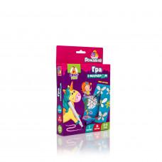 Настольная развивающая игра для детей с маркером Vladi Toys Пиши и вытирай. Единороги UA (VT5010-17)