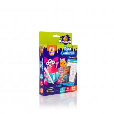Настольная развивающая игра для детей с маркером Vladi Toys Пиши и вытирай. Монстрики UA (VT5010-18)