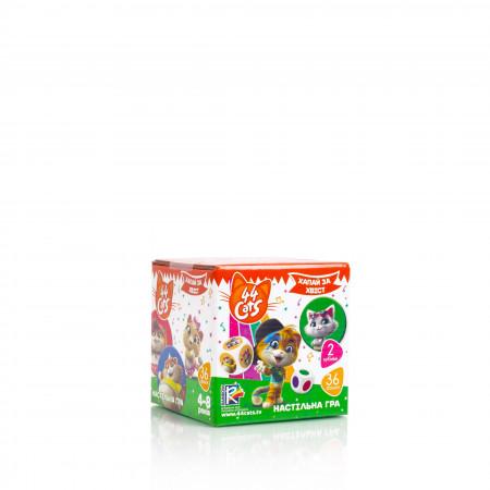 Настольная развивающая игра для детей Vladi Toys 44 Кота. Хватай за хвост UA (VT8022-07)