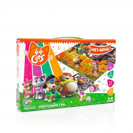Настольная развивающая игра для детей Vladi Toys 44 Кота. Кет-бенд UA (VT8055-16)